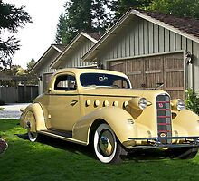 1934 LaSalle 'Rumble Seat' Coupe I by DaveKoontz