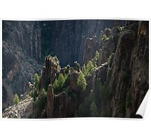 Crag - Black Canyon of the Gunnison National Park, Colorado Poster
