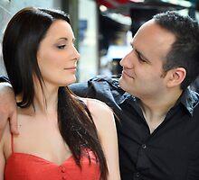 Sarah and Aaren  by diLuisa Photography