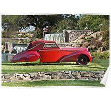1947 Delahaye 135M Pennock Cabriolet I Poster