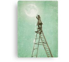 Waning Moon Canvas Print