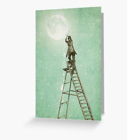 Waning Moon Greeting Card