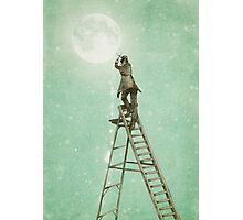 Waning Moon Photographic Print