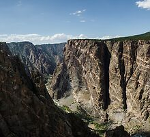 The Painted Wall - Black Canyon of the Gunnison National Park, Colorado by Jason Heritage
