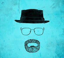 "Heisenberg's Haberdashery - ""That Blue Stuff"" Blue by Nick Prevas"