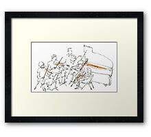 ensemble Framed Print