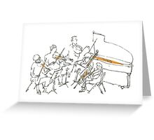 ensemble Greeting Card