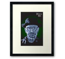 Breaking Bad - Heisenberg Blue Meth - Walter White Framed Print