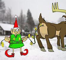 Christmas Lights by TheKingLobotomy