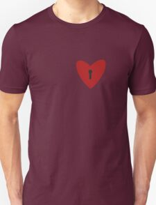 Funny Quirky Key to heart T shirt T-Shirt