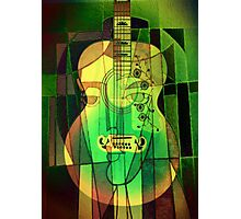 5161 Guitar with Fcae Photographic Print