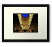 Wright At Night Framed Print