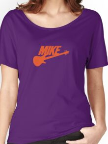 Mike (Orange) Women's Relaxed Fit T-Shirt