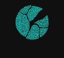 Breaking Bad Cracked Plate - Blue Unisex T-Shirt