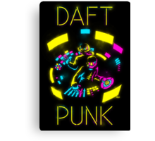 Daft Punk CMYK Canvas Print
