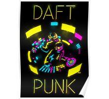 Daft Punk CMYK Poster