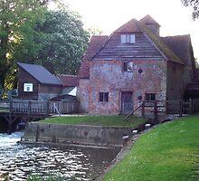 The Mill at Mapledurham. by Allan McKean