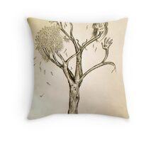 Daphne's Metamorphosis Throw Pillow