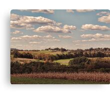 Great Fall Scenery 2 Canvas Print