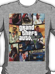 Gta 5 Custom Box Art T-Shirt