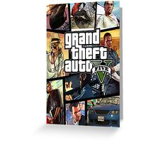 Gta 5 Custom Box Art Greeting Card