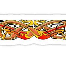 Celtic Illumination - Mad Dog Knot Sticker