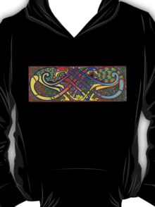 Celtic Illumination - Peacock Knot T-Shirt