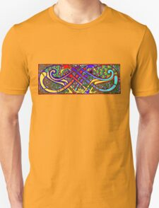 Celtic Illumination - Peacock Knot Unisex T-Shirt