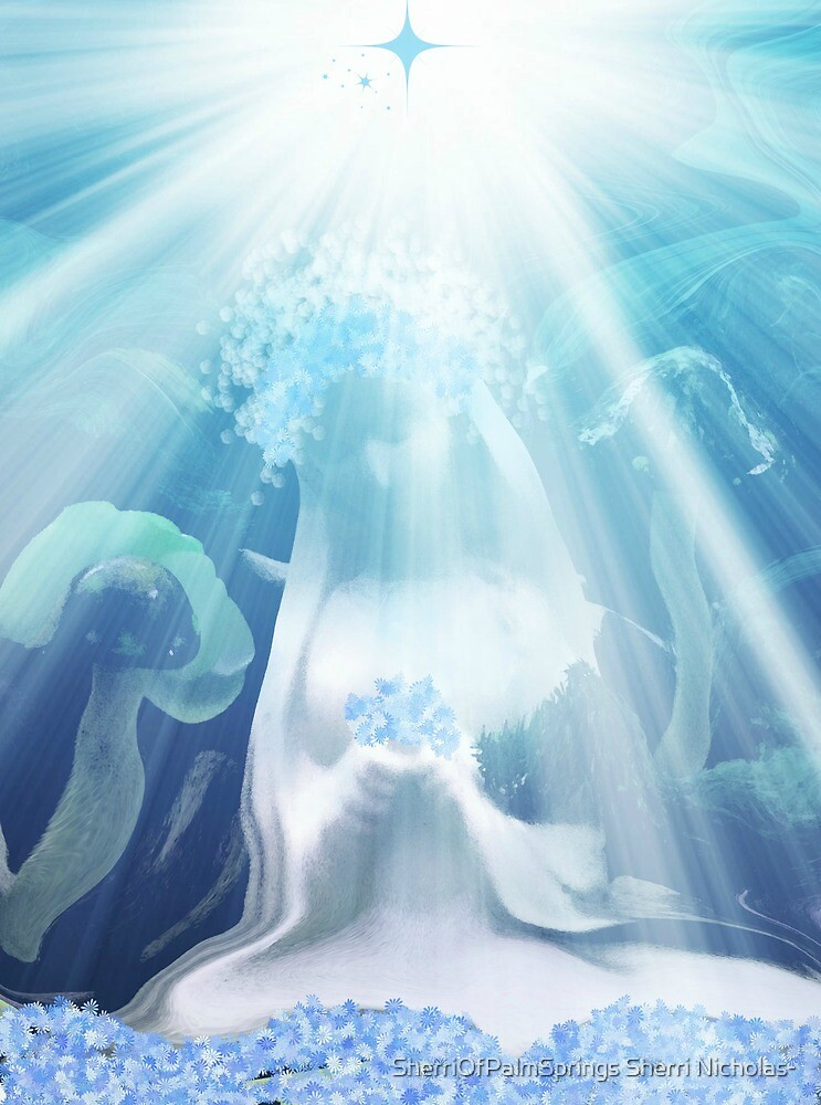 Blessed Mother Mary by Sherri     Nicholas