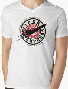 Viper Express Mens V-Neck T-Shirt