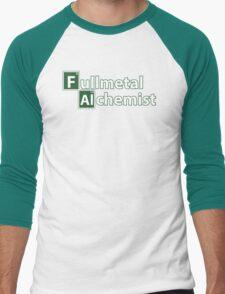 Full Metal Alchemist and Science.  Men's Baseball ¾ T-Shirt