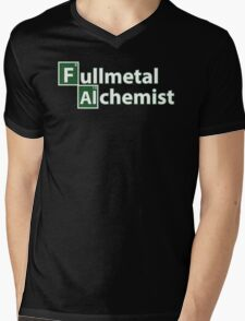 Full Metal Alchemist and Science.  Mens V-Neck T-Shirt
