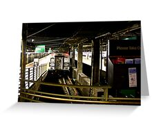 Grand Central Trains Greeting Card