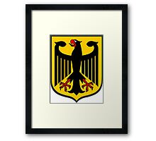 German Coat of Arms Framed Print