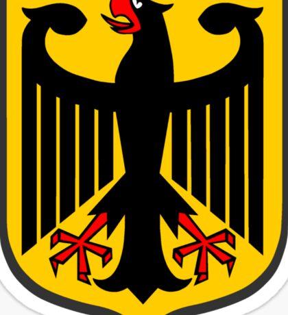 German Coat of Arms Sticker