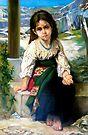 the little begger after W. Bouguereau by Hidemi Tada