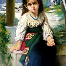 the little begger after W. Bouguereau by Hidemi Tada