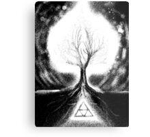 Triforce Roots Metal Print