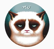 "Grump Cat: ""No"" (Bright) by Adam Rooney"
