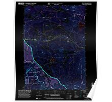 USGS Topo Map  Vermont VT Mount Holly 337538 1997 24000 Inverted Poster