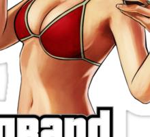 Bikini Girl V Sticker