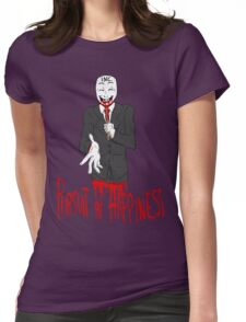 The Corporate Monster Womens Fitted T-Shirt