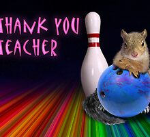 Thank You Teacher Squirrel by jkartlife