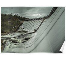 wellington dam overflowing 2 Poster