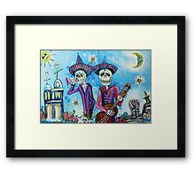 Secrets Of The Mariachi (All Saint's Day) Framed Print