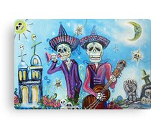 Secrets Of The Mariachi (All Saint's Day) Metal Print