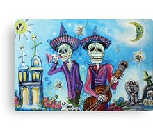 Secrets Of The Mariachi (All Saint's Day) Canvas Print