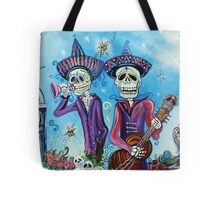 Secrets Of The Mariachi (All Saint's Day) Tote Bag