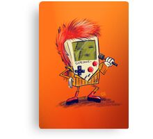 Game Bowie Canvas Print