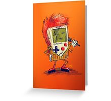 Game Bowie Greeting Card
